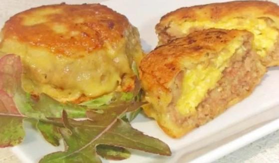 Зразы мясные с яйцом и сыром- рецепт с фото в духовке