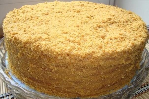 Медовик с кремом (самые простые рецепты очень вкусного торта)