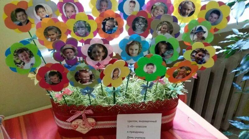 Днем рождения, идеи для поздравления на день учителя от учеников