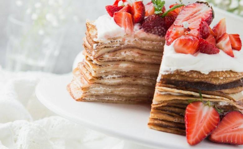 Блинный торт в домашних условиях — рецепты тортов из блинов